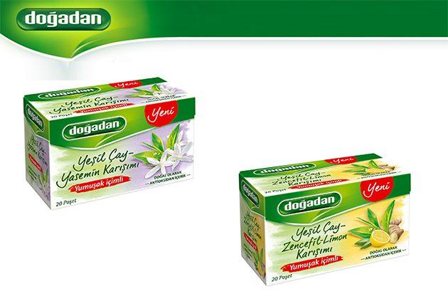 Doğadan Yeşil Çaylar